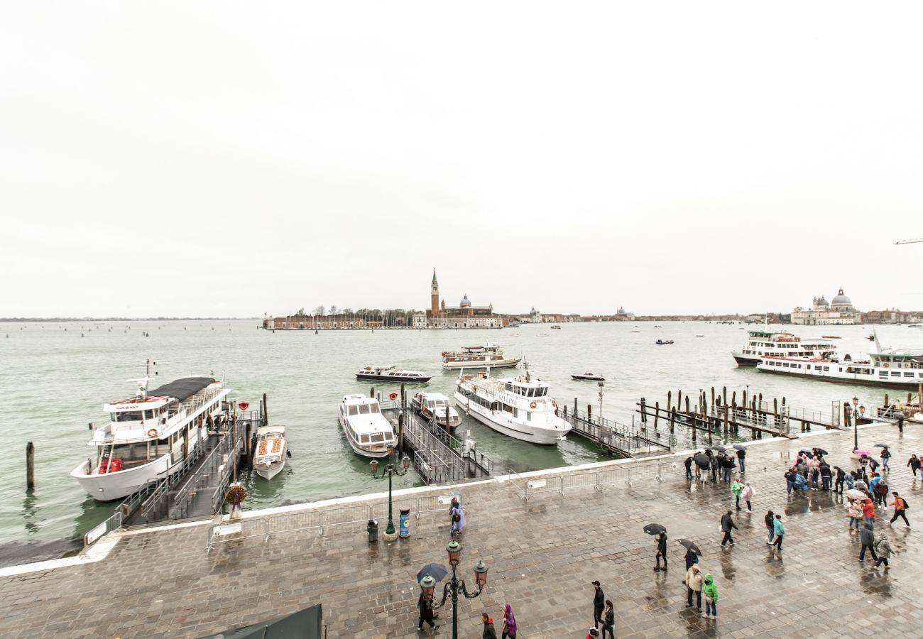 View of the Bacino di San Marco